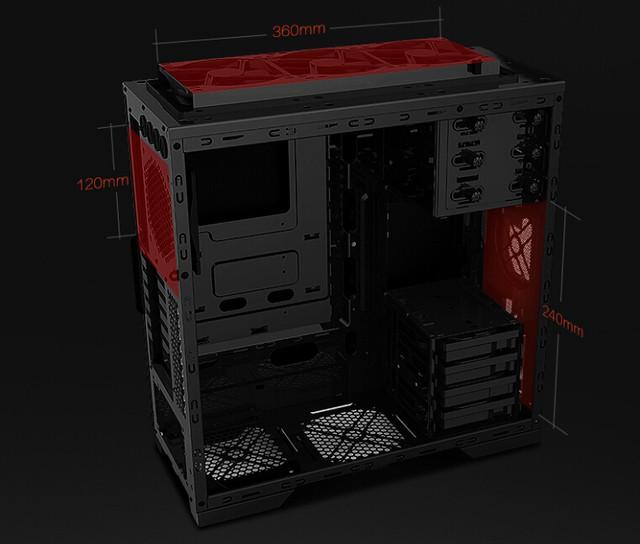 全塔模组设计  GAMEAMX钛60手工水冷箱